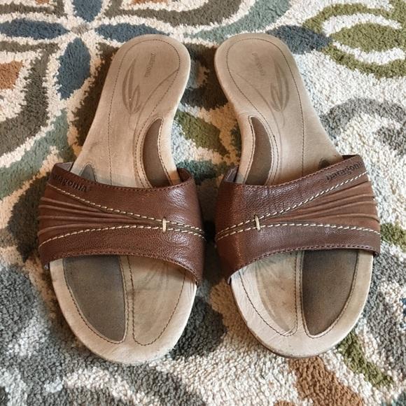 Patagonia Leather Slide Sandals cheap sale store 33rdoDXS